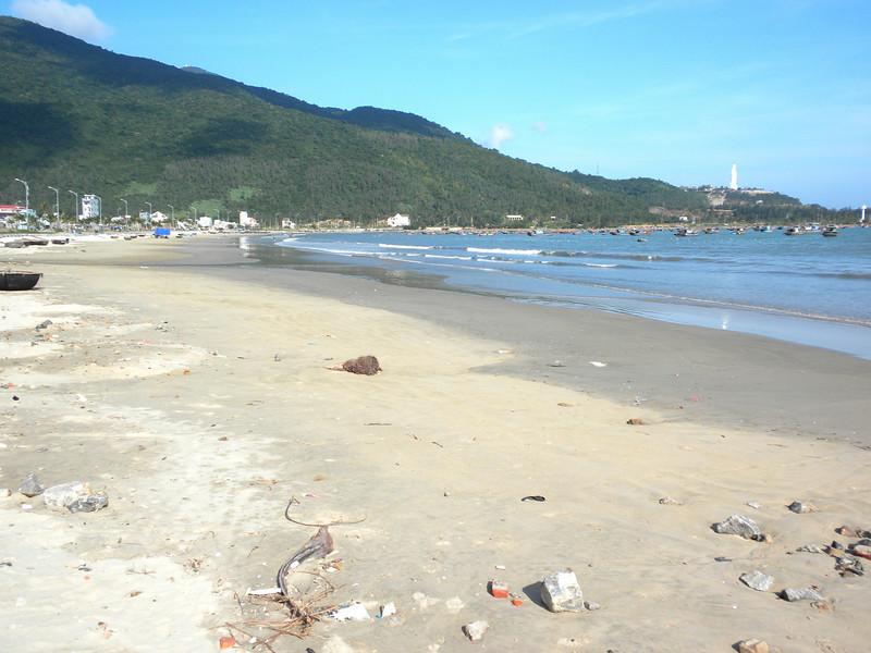 Danang, Vietnam - a scene at China Beach