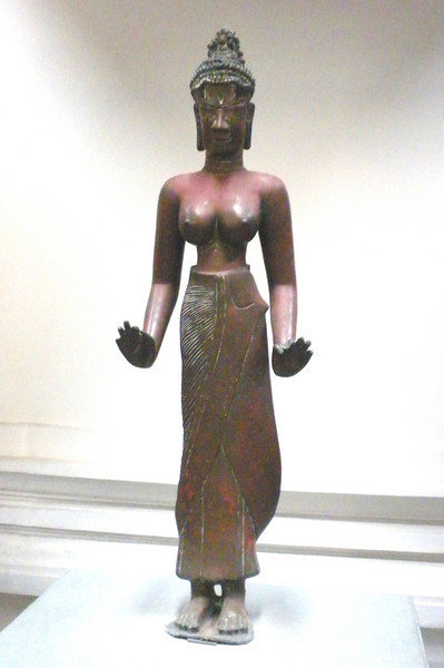 Danang, Vietnam - a display inside the Museum of Champ Culture