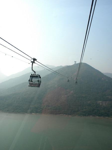 Hong Kong, China - Ngong Ping cable car