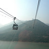 Hong Kong, China - Ngong Ping cable car