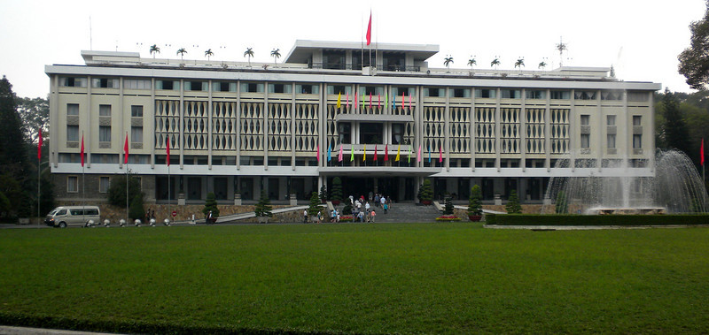 Ho Chih Minh City, Vietnam - Independence Palace, but used to be the Presidential Palace of South Vietnam before the end of the Vietnam War