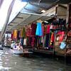 Bangkok, thailand - world-famous water market near Bangkok