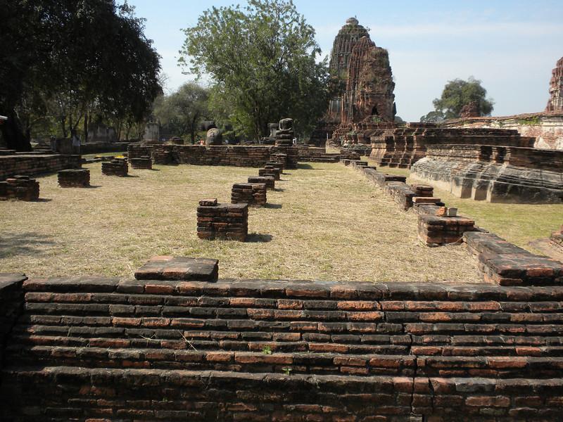 Bangkok - Ayutthaya Historical Park near Bangkok.