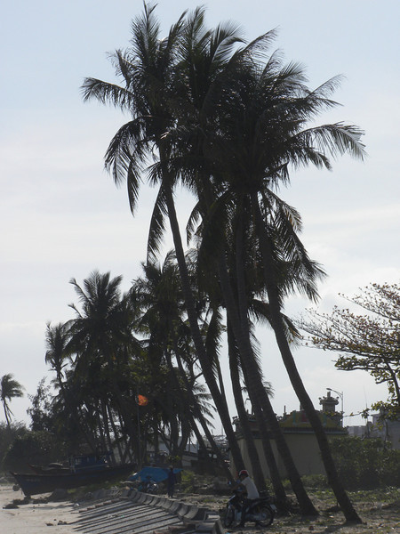 Danang, Vietnam - a view of China Beach