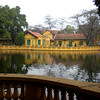 Hanoi, Vietnam - the pond by the residence of President Ho Chih Minh