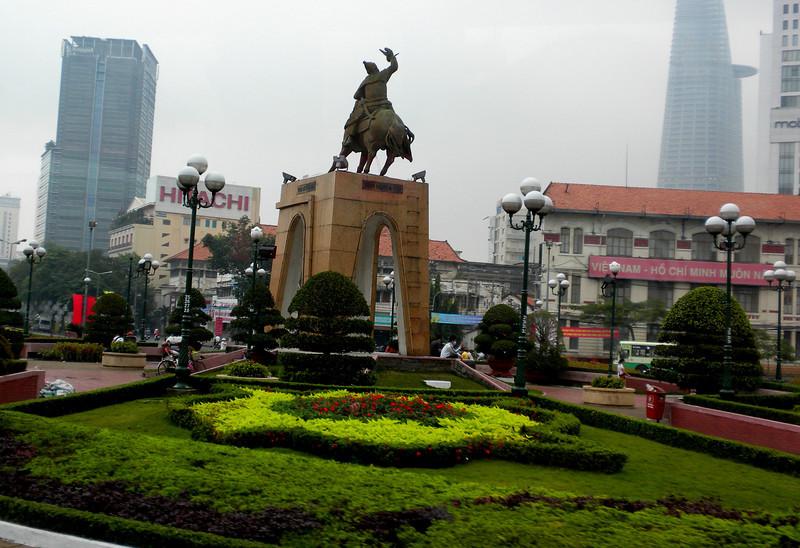 Ho Chih Minh City, Vietnam - a view inside the city