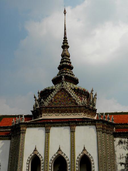 Bangkok, Thailand - a view inside the palace