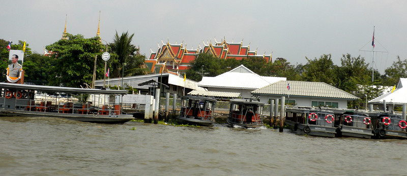 Bangkok, Thailand - a view from the river