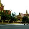 Phnom Penh, Cambodia - street scene near the Royal Palace