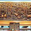 Bangkok, Thailand - This beautiful teak carving took 2 master carvers 9 months to complete.