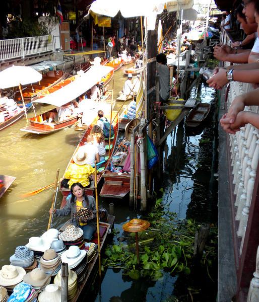 Bangkok, Thailand - water market