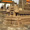 Bangkok, Thailand - The model of Angkor Wat (in Cambodia).  The real thing was built by a King of Siam.