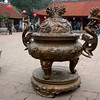 Hanoi, Vietnam - a ting ( a sort of ceremonial vessel) inside the university