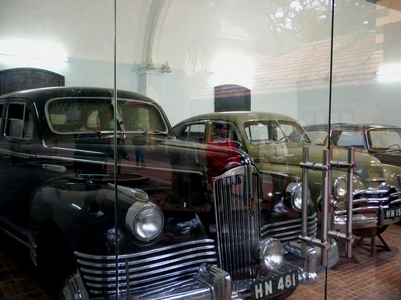 Hanoi, Vietnam - the 3 cars used by President Ho Chih Minh