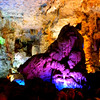 "Halong Bay (""Descended Dragon Bay,""  下龍灣), Vietnam - a cave on one of the islets"