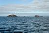 Galapagos Trip - Galapagos, Mariela Islands, Elizabeth Bay, Isabela Island<br /> Xpedition seen in distance between the Mariela Islands