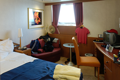 Galapagos Trip - Galapagos, Cerro Dragon, Santa Cruz Island<br /> Xpedition Stateroom, Deck 4, Premium Stateroom