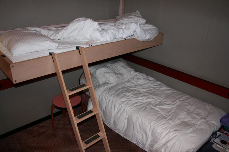 The beds weren't too bad...