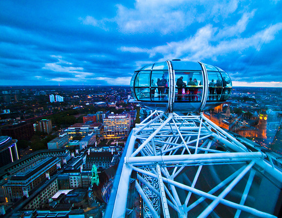 London view from the London Eye