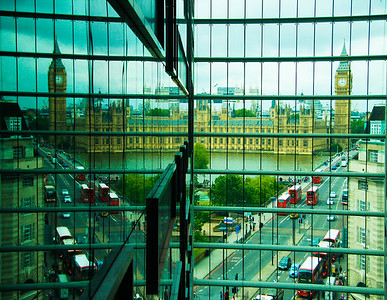 view from our hotel Park Plaza at Westminister