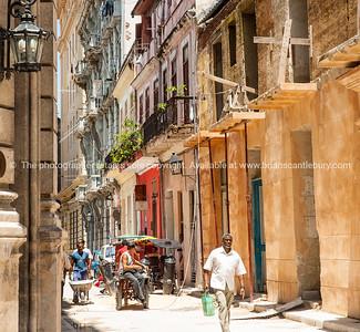 Havana Images. As the city was in 2012.  Cuba, Havana, street scene. Prints & downloads.                also see; www.blurb.com/b/3586795-cuba