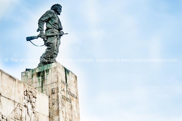 The Che Guevara Mausoleum is a memorial in Santa Clara, Cuba
