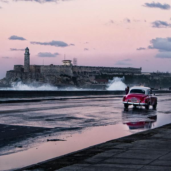 Havana, Cuba, Malacon, buildings, cars, water   Photos by Gloria Matyszyk