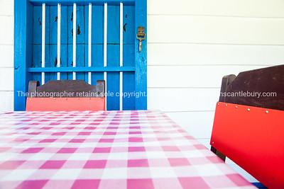 Restaurant table. Boats at Casa de Botes, La Moka. Prints & downloads.                also see; www.blurb.com/b/3586795-cuba