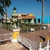 "Trinidad, Cuba, the colonial style Plaza mayor.<br /> Cuba, Trinidad, street scene.<br /> Prints & downloads.                also see;  <a href=""http://www.blurb.com/b/3586795-cuba"">http://www.blurb.com/b/3586795-cuba</a>"
