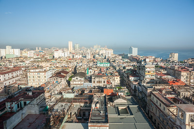 Havana, Cuba, roof tops, looking over the city. (4 of 4)
