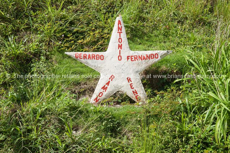 """Memorial star. La Moka, Cuba.<br /> Boats at Casa de Botes, La Moka.<br /> Prints & downloads.                also see;  <a href=""""http://www.blurb.com/b/3586795-cuba"""">http://www.blurb.com/b/3586795-cuba</a>"""