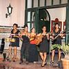 Cuban band in hotel lobby.