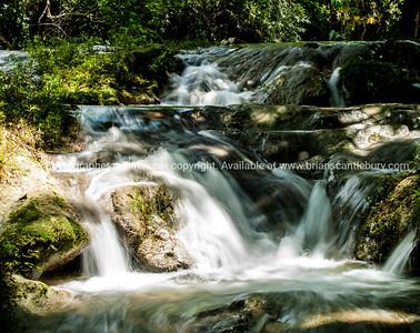 Watefall not far from La Moka village. Refreshing in the afternoon heat, Baños del rio San Juan are a must. A few km's before Las Terrazas Prints & downloads.                also see; www.blurb.com/b/3586795-cuba