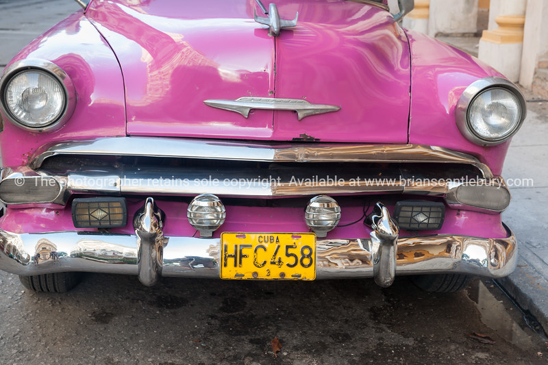 Havana, Cuba, vehicle plate (1 of 1)