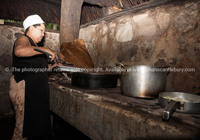 Cooking up Cuban food for visitors and tourists. Black beans and rice. Prints & downloads.                also see; www.blurb.com/b/3586795-cuba
