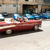 American classic car, well restored in Havana.