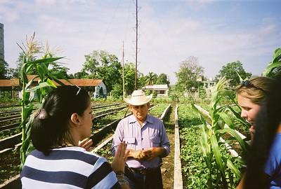 Head of an urban organic farm in Santa Clara explains how the farm operates.