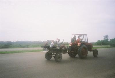 On the highway from Havana to Santa Clara