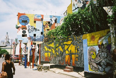 Alley dedicated to promotion of African art, crafts and music
