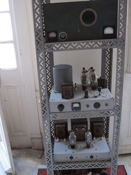 "This radio transmitter was the same one actually used by Ernesto ""Che"" Guevara during the 26th of July Movement. (the overthrow of Juan Batista)"