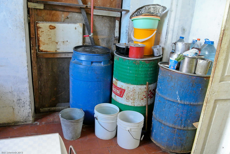 Water supply for a household