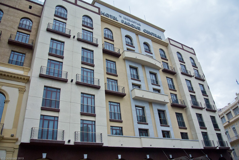 Motel Parque Central: our hotel in the center of old Havana