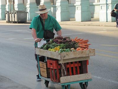 Moving produce to market.