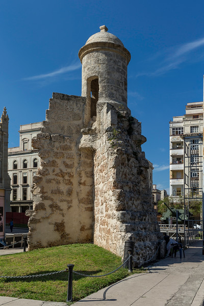 Remains of Old City Wall, Havana