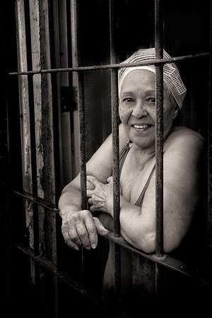 Cuban People - Black & White