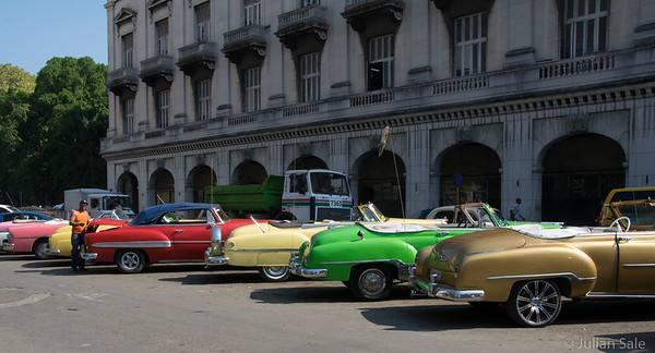 Love the old cars in Havana