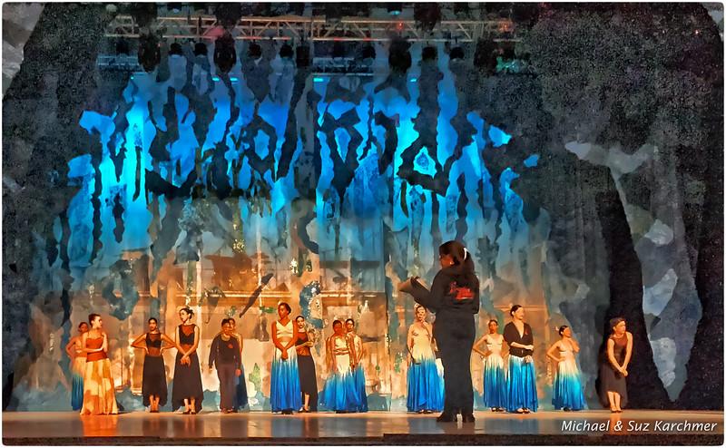 Ballet Rehearsal at Opera House