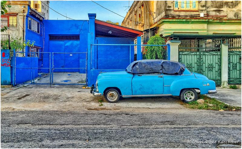Street scene in Vedado area