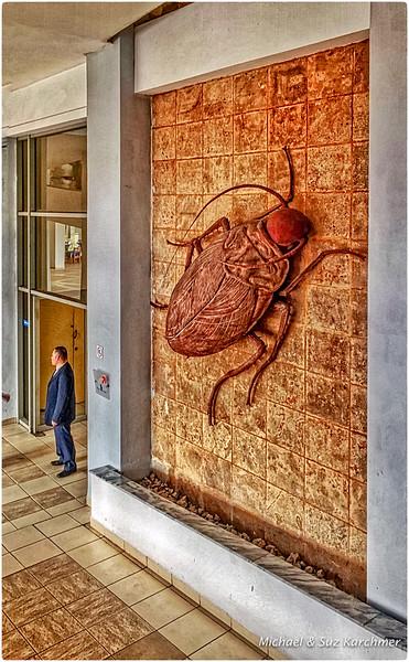 Entering Bellas Artes Museum of Cuban Art