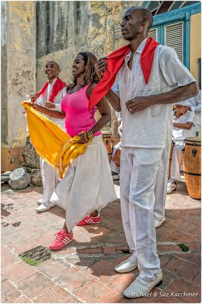 Dancing for Santoria Ritual